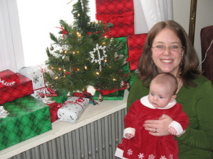 Grace's First Christmas in Pictures