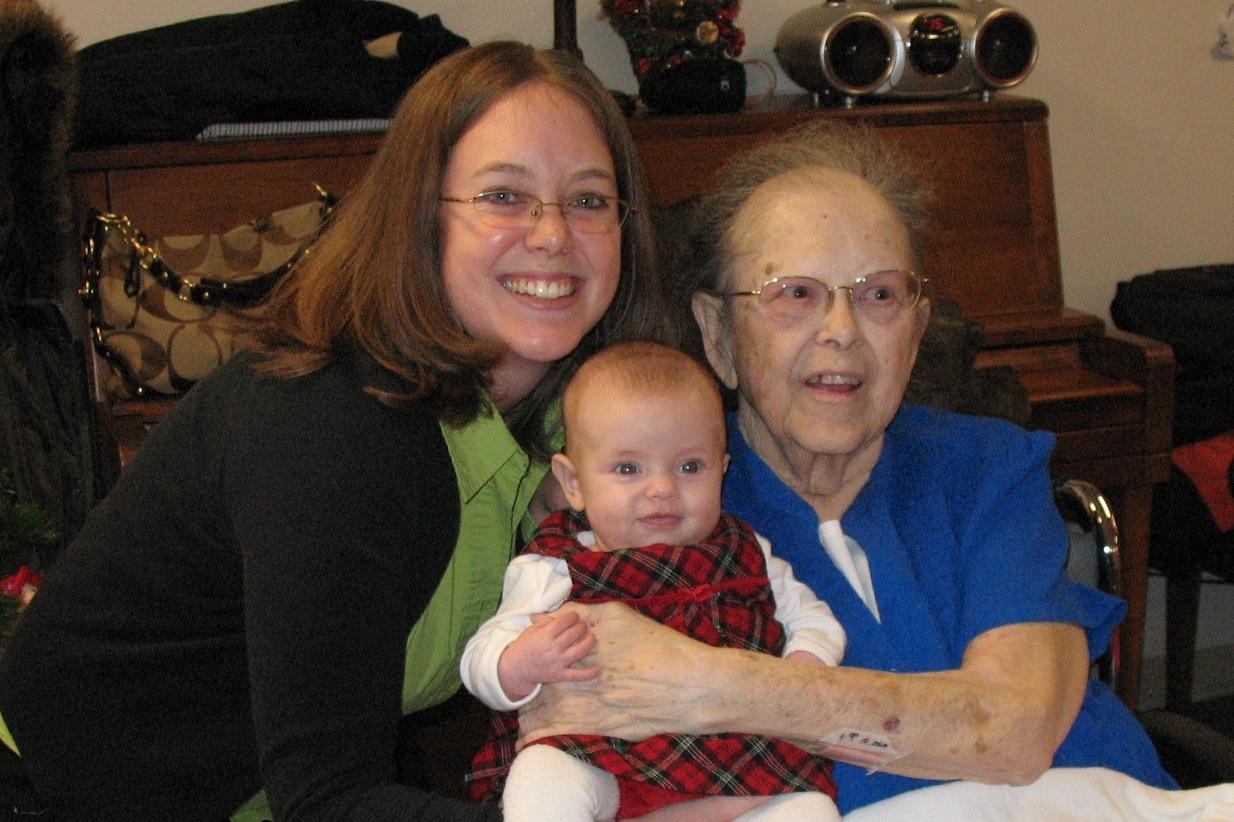 Great Grandma Miller
