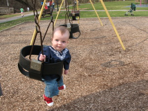 Grace's First Trip to the Park