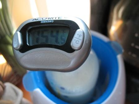 Scalding Breast Milk - Thermometer