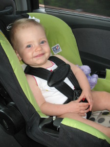 Why We Choose to Rear-Face Our Car Seat