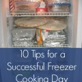 10 Tips for a Successful Freezer Cooking Day