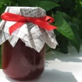 Homemade Jam in Baby Food Jar