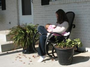 My Breastfeeding Journey in 100 Words