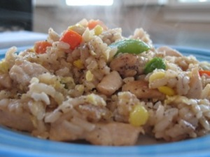 Homemade Chicken Fried Rice
