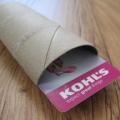 Wrap Gift Cards in Empty Toilet Paper Tubes