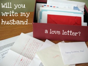 Why I Asked 71 People to Write My Husband a Love Letter