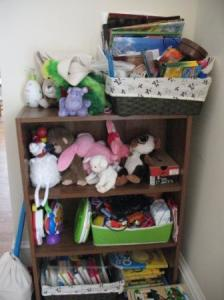 Reorganizing Before & After Photos: Toys and Grace's New Room