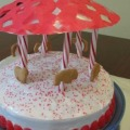 A Simple Carousel Birthday Cake