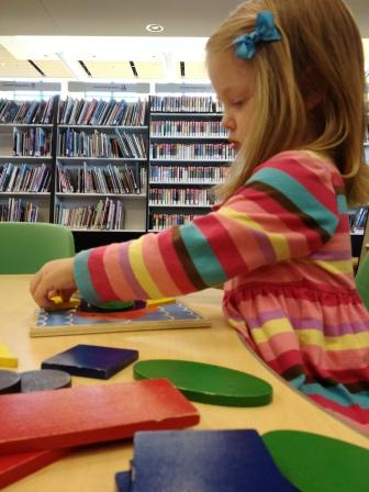 Playing with Puzzles at the Library