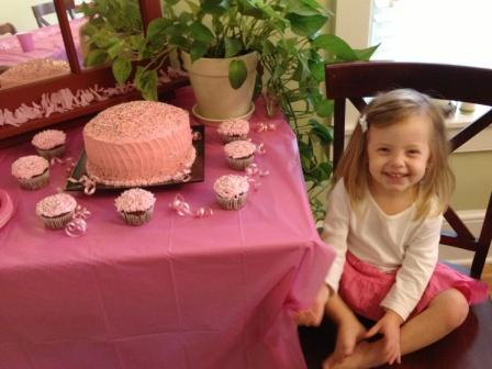 Grace's Pink Birthday Party