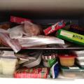 Before Picture: Messy Freezer