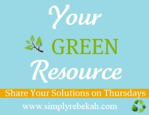 The Last Week of Your Green Resource {and an Exciting Announcement}
