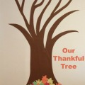 Our November Thankful Tree