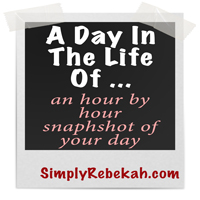A Day in the Life of… 2014 {link-up}