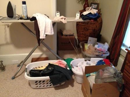 My Bedroom Mess Before
