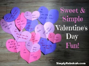 Sweet & Simple Valentine's Day Fun