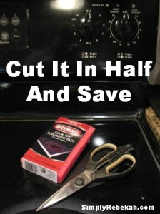 Cut Cleaning Scrubbers in Half to Save Money