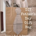DIY Father's Day Gift Bag - Plus 5 Fun & Frugal Gifts to Put in it!
