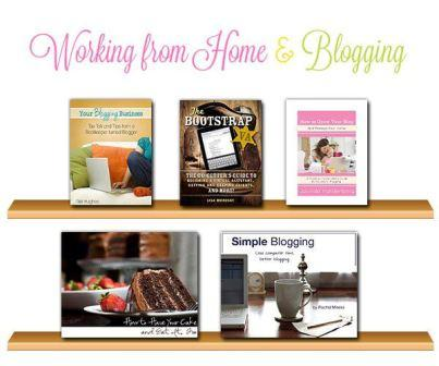 working from home & blogging ebooks
