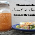 Homemade Sweet and Sour Salad Dressing Recipe - This takes any ordinary lettuce salad and turns it up a notch!