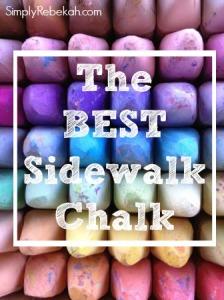 48 Different Colors of Sidewalk Chalk?!?!