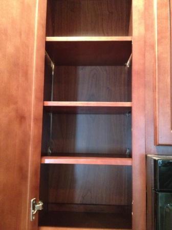Empty Kitchen Cabinet