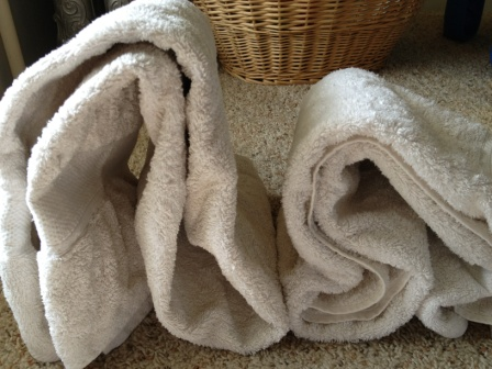 Softer Towels with Dryer Balls