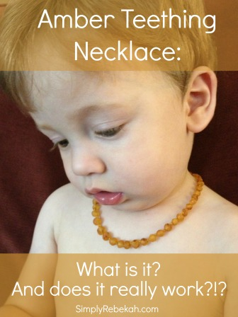 Amber Teething Necklace: What is it? And does it really work?!?