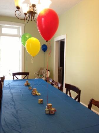 Block Themed Birthday Party