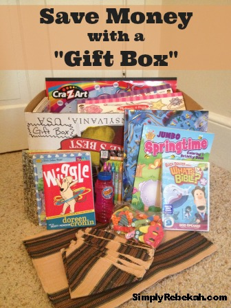 "Save Money with a ""Gift Box"""