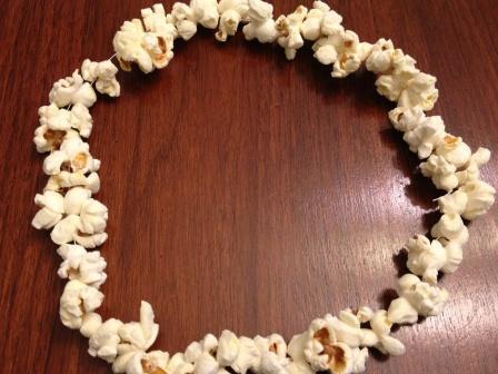 DIY Popcorn Halloween Costume