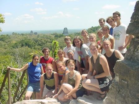 Group Picture at Tikal