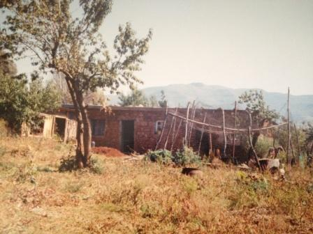 My Host Family's House in Lesotho