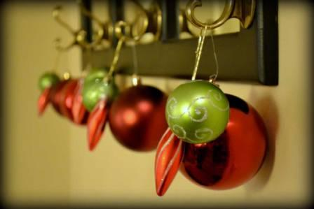 Decorate with Christmas Bulbs