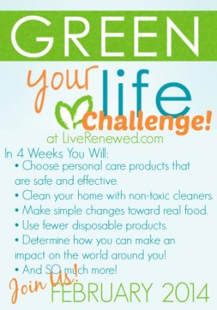 Green Your Life Challenge