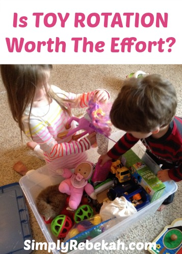 Is Toy Rotation Worth The Effort? Plus the answers to 7 more questions!