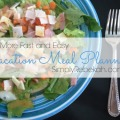 More Fast and Easy Vacation Meal Planning - Save money on vacation by planning easy meals you can make yourself! This is an example of what one family truly ate while on vacation.