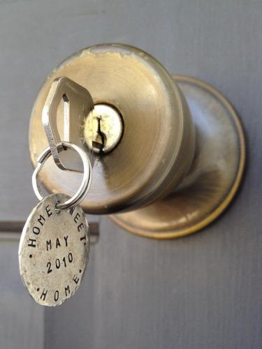 Housewarming Gift - key chain