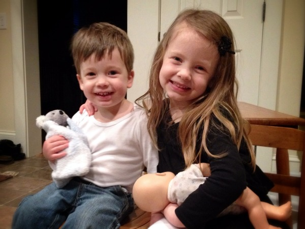 Grace and Noah March 2014