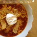 This mild taco soup recipe is kid friendly, guests love it, and it is a good freezer recipe. It is a total winner!
