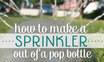 How to Make a Sprinkler Out of a Pop Bottle