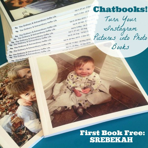 Turn your Instagram pictures into photo books with Chatbooks and get your first book free!