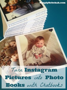 Turn Instagram Pictures into Photo Books with Chatbooks