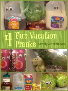 4 Fun Vacation Pranks