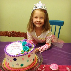 Happy 6th Birthday, Grace!