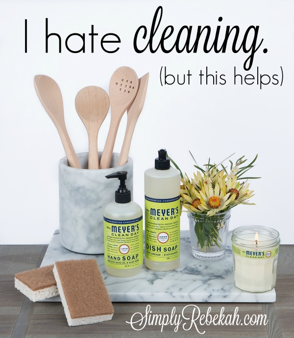 I hate cleaning (but this helps). - Free Mrs. Meyer's Cleaning Kit from Grove Collaborative