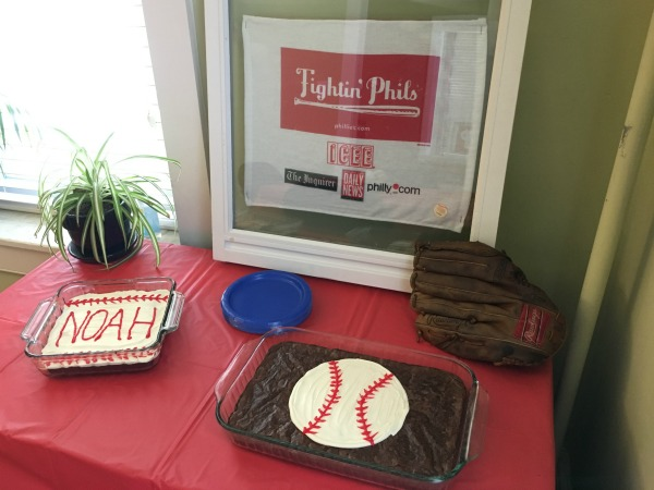 simple baseball birthday party ideas