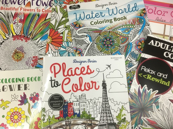 Dollar Tree Adult Coloring Books