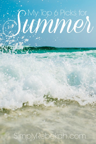 A fun list of everything you need to survive, thrive, and indulge this summer!
